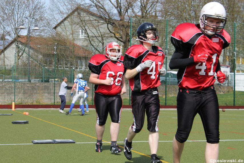 Scrimmage Marburg Mercenaries Darmstadt Diamonds Jugend 020