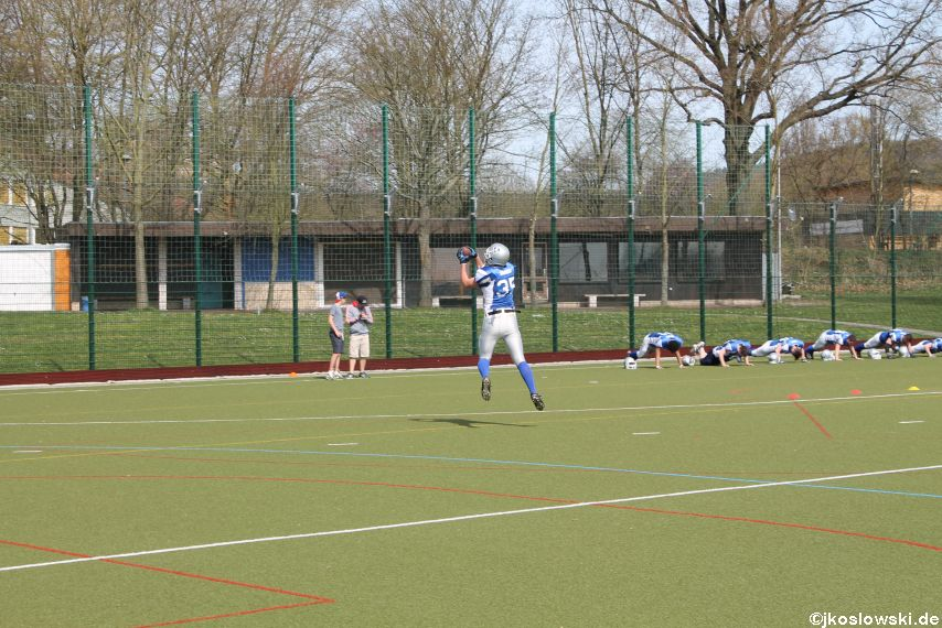 Scrimmage Marburg Mercenaries Darmstadt Diamonds Jugend 021