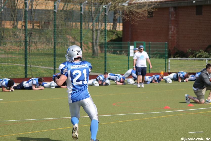 Scrimmage Marburg Mercenaries Darmstadt Diamonds Jugend 025
