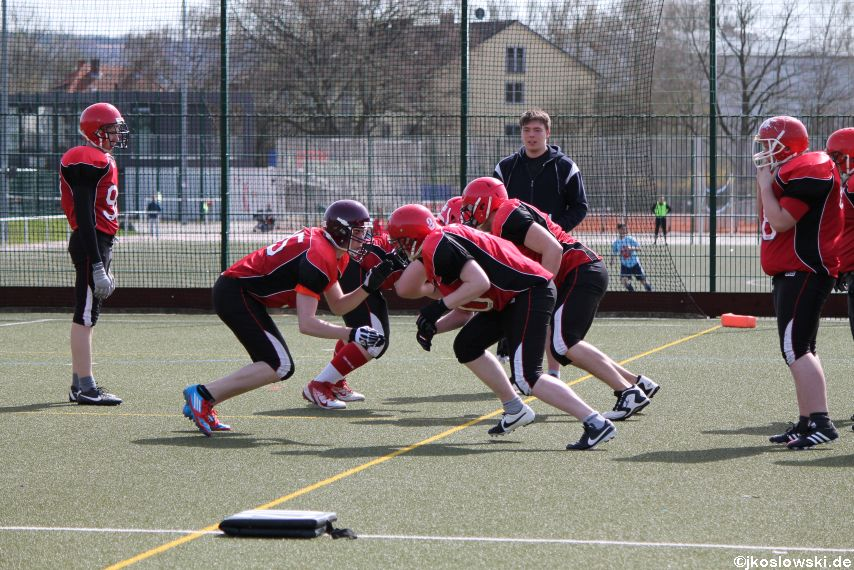 Scrimmage Marburg Mercenaries Darmstadt Diamonds Jugend 030