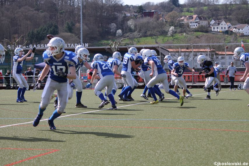 Scrimmage Marburg Mercenaries Darmstadt Diamonds Jugend 034