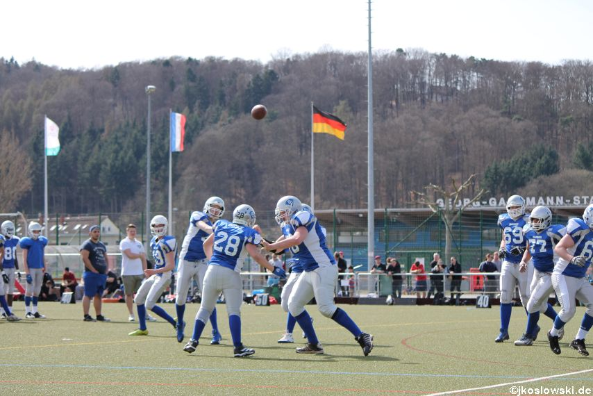 Scrimmage Marburg Mercenaries Darmstadt Diamonds Jugend 036