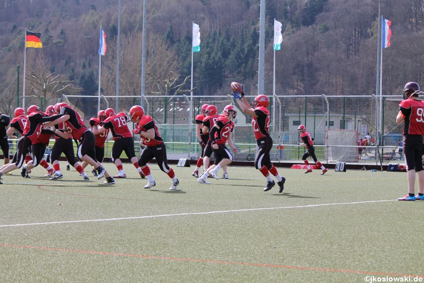 Scrimmage Marburg Mercenaries Darmstadt Diamonds Jugend 038