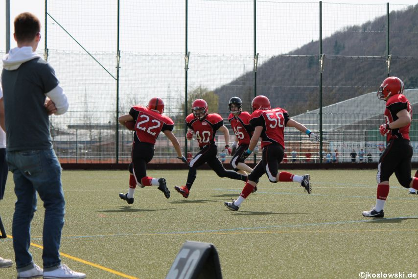 Scrimmage Marburg Mercenaries Darmstadt Diamonds Jugend 039
