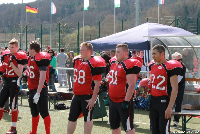 Scrimmage Marburg Mercenaries Darmstadt Diamonds Jugend 045