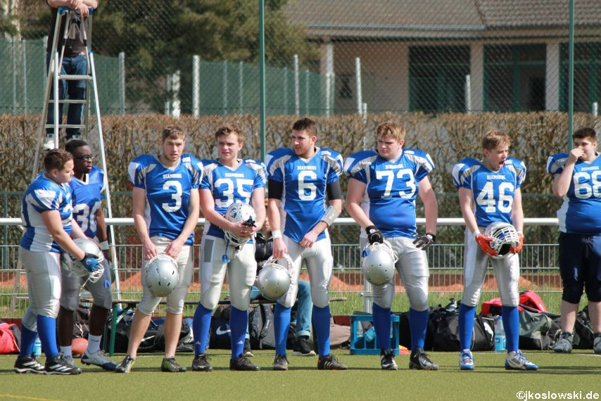 Scrimmage Marburg Mercenaries Darmstadt Diamonds Jugend 049