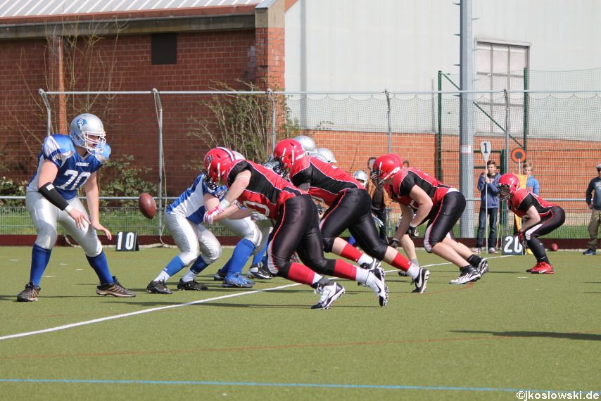 Scrimmage Marburg Mercenaries Darmstadt Diamonds Jugend 051