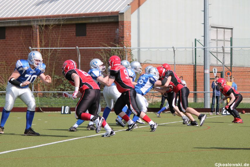 Scrimmage Marburg Mercenaries Darmstadt Diamonds Jugend 052