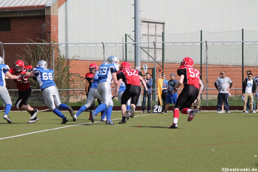 Scrimmage Marburg Mercenaries Darmstadt Diamonds Jugend 053