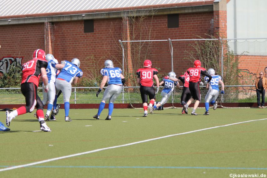 Scrimmage Marburg Mercenaries Darmstadt Diamonds Jugend 054