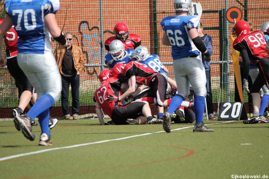 Scrimmage Marburg Mercenaries Darmstadt Diamonds Jugend 055