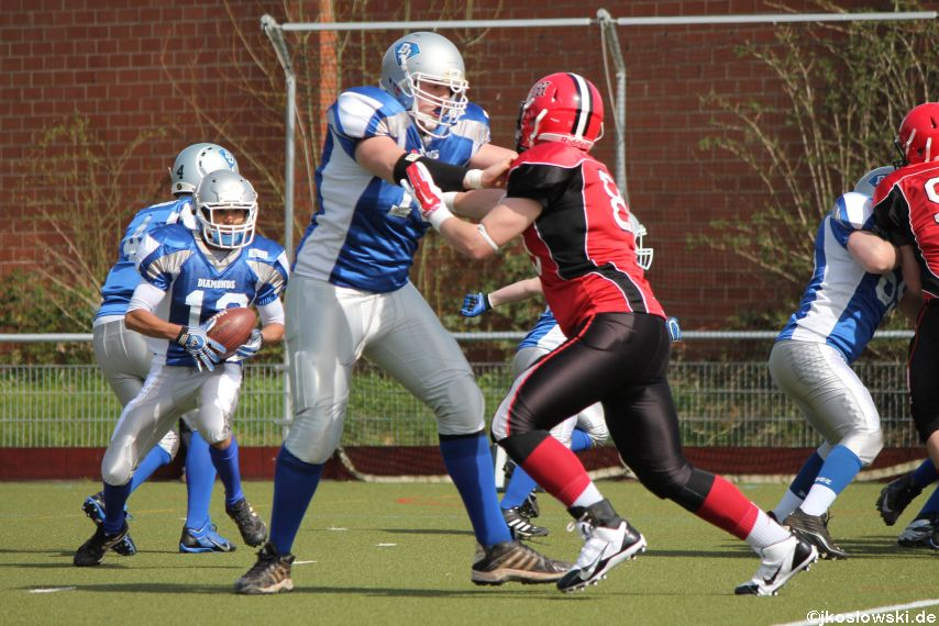 Scrimmage Marburg Mercenaries Darmstadt Diamonds Jugend 057