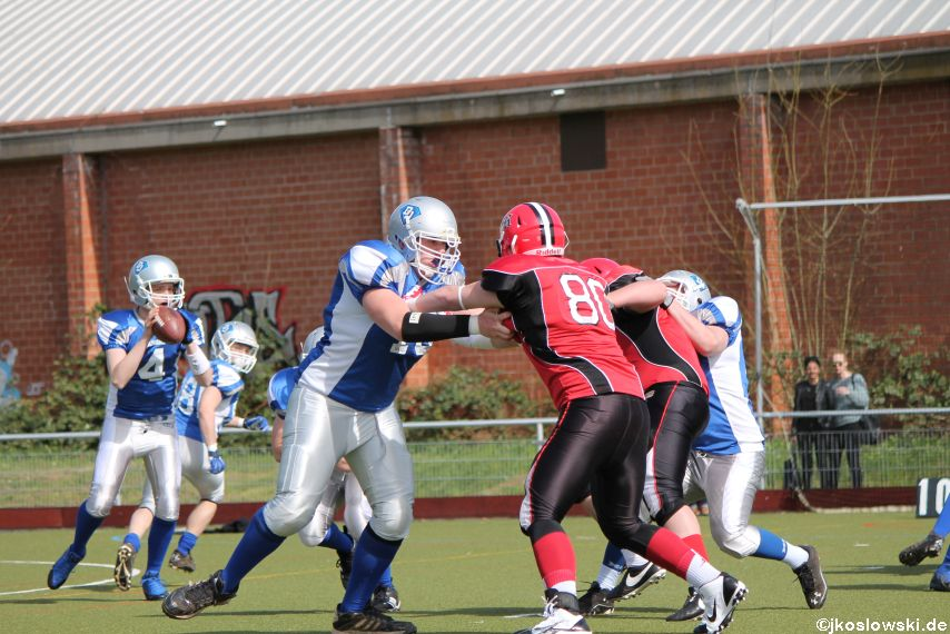 Scrimmage Marburg Mercenaries Darmstadt Diamonds Jugend 059