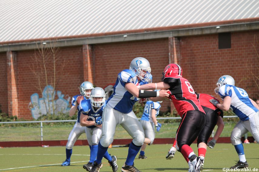 Scrimmage Marburg Mercenaries Darmstadt Diamonds Jugend 060