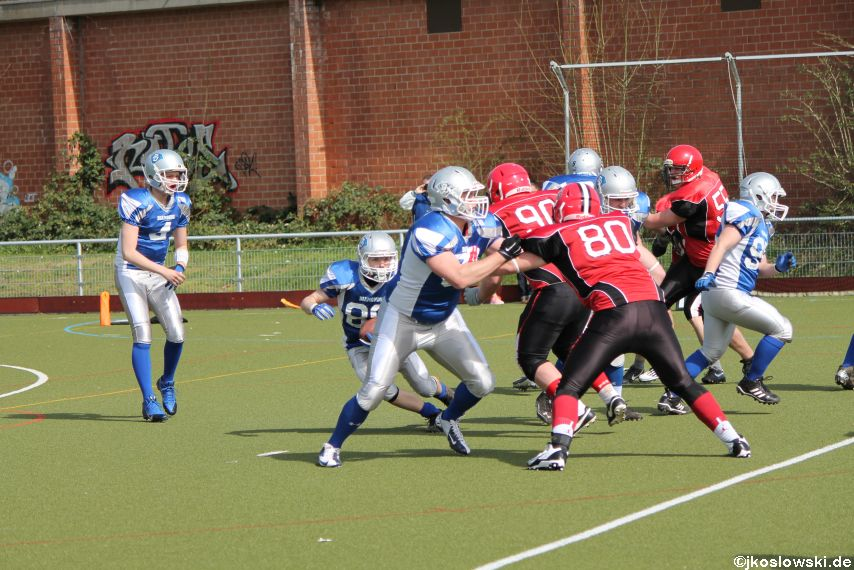 Scrimmage Marburg Mercenaries Darmstadt Diamonds Jugend 062