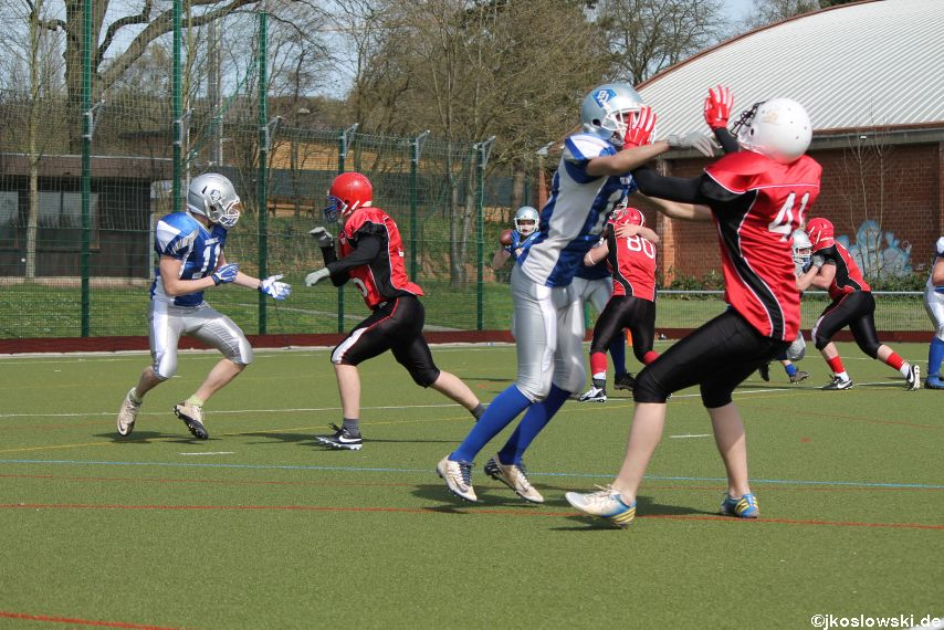 Scrimmage Marburg Mercenaries Darmstadt Diamonds Jugend 065
