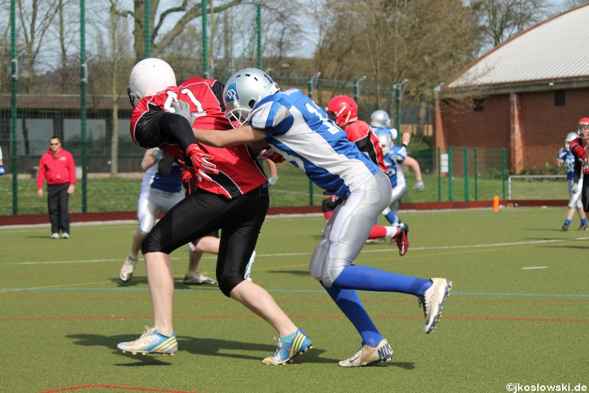 Scrimmage Marburg Mercenaries Darmstadt Diamonds Jugend 067