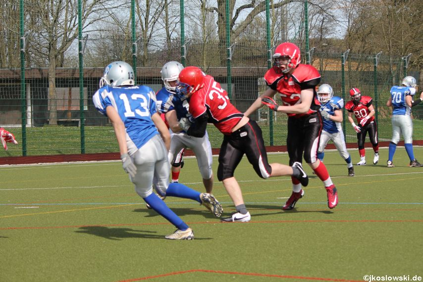 Scrimmage Marburg Mercenaries Darmstadt Diamonds Jugend 068