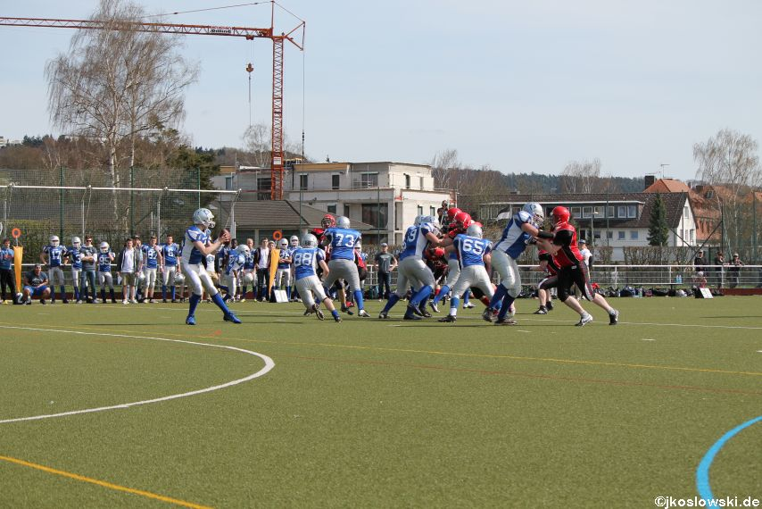 Scrimmage Marburg Mercenaries Darmstadt Diamonds Jugend 073