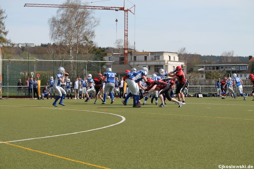 Scrimmage Marburg Mercenaries Darmstadt Diamonds Jugend 074