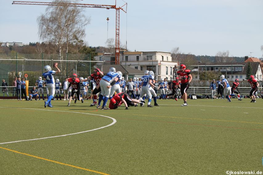 Scrimmage Marburg Mercenaries Darmstadt Diamonds Jugend 075