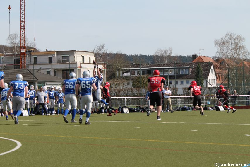 Scrimmage Marburg Mercenaries Darmstadt Diamonds Jugend 077