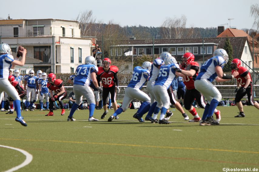 Scrimmage Marburg Mercenaries Darmstadt Diamonds Jugend 080