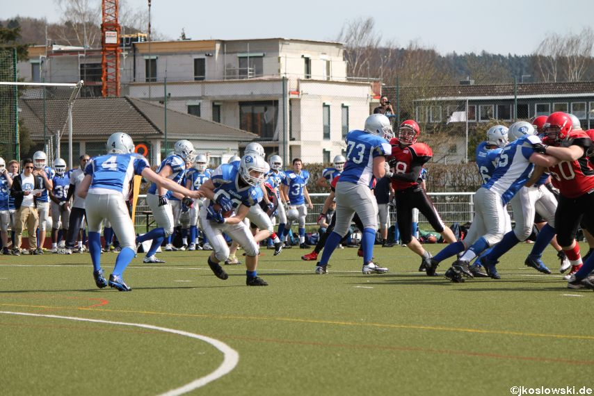 Scrimmage Marburg Mercenaries Darmstadt Diamonds Jugend 081