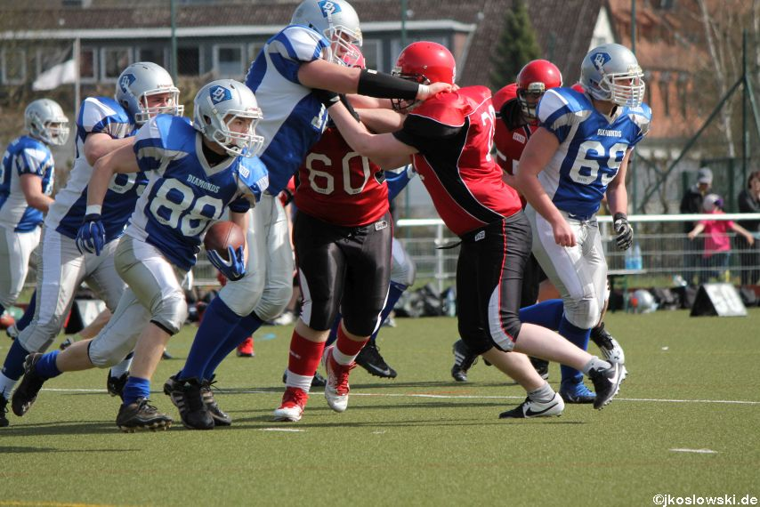 Scrimmage Marburg Mercenaries Darmstadt Diamonds Jugend 082