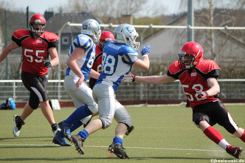 Scrimmage Marburg Mercenaries Darmstadt Diamonds Jugend 083