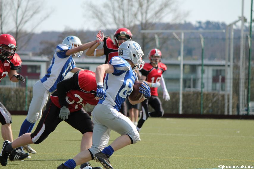 Scrimmage Marburg Mercenaries Darmstadt Diamonds Jugend 085