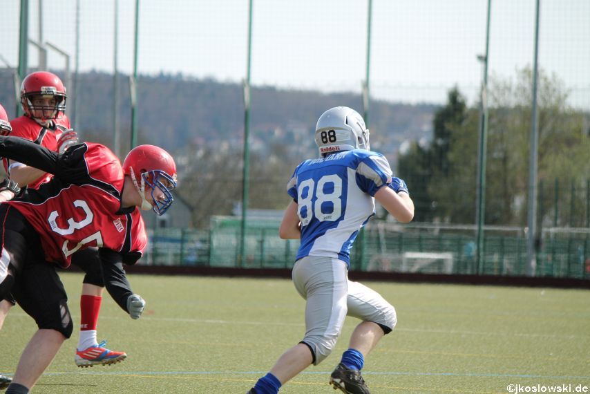 Scrimmage Marburg Mercenaries Darmstadt Diamonds Jugend 086