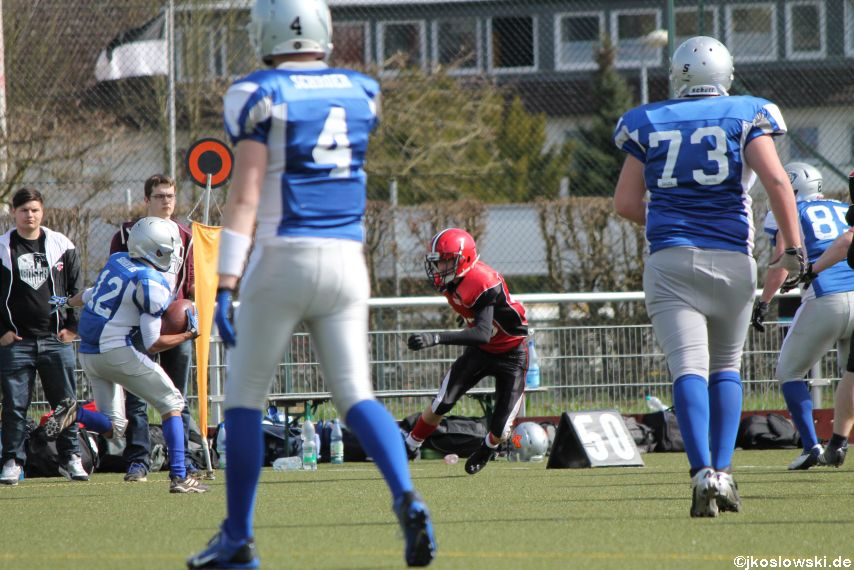 Scrimmage Marburg Mercenaries Darmstadt Diamonds Jugend 091