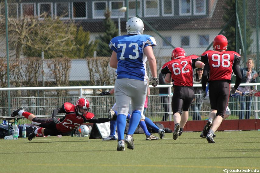 Scrimmage Marburg Mercenaries Darmstadt Diamonds Jugend 092