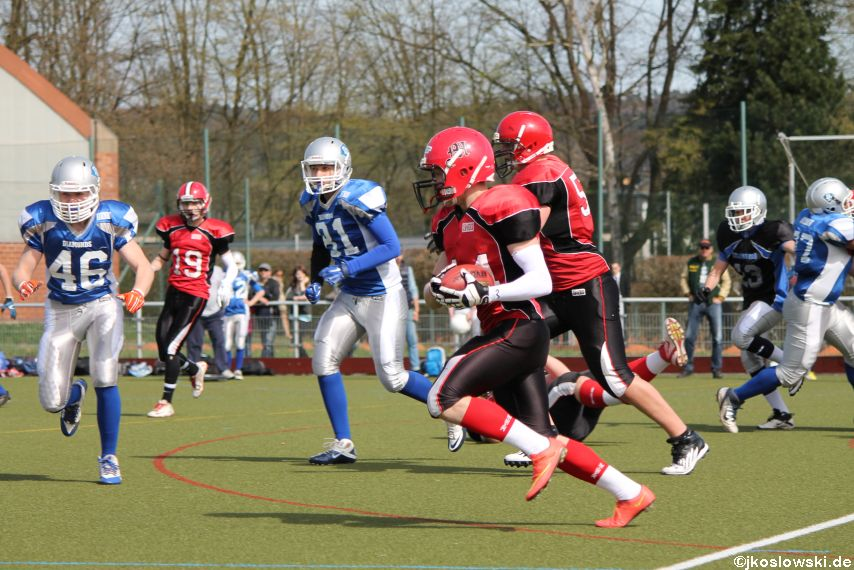 Scrimmage Marburg Mercenaries Darmstadt Diamonds Jugend 094