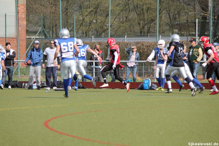 Scrimmage Marburg Mercenaries Darmstadt Diamonds Jugend 098