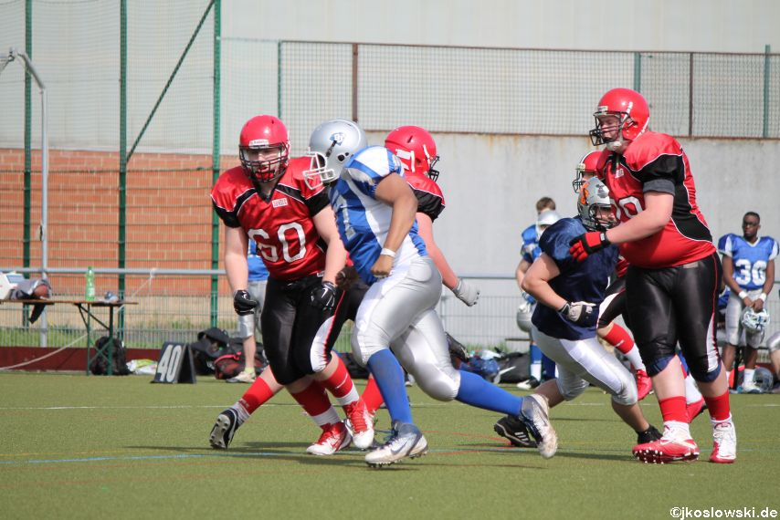 Scrimmage Marburg Mercenaries Darmstadt Diamonds Jugend 100