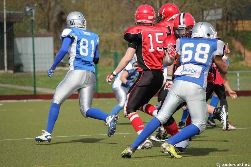 Scrimmage Marburg Mercenaries Darmstadt Diamonds Jugend 101