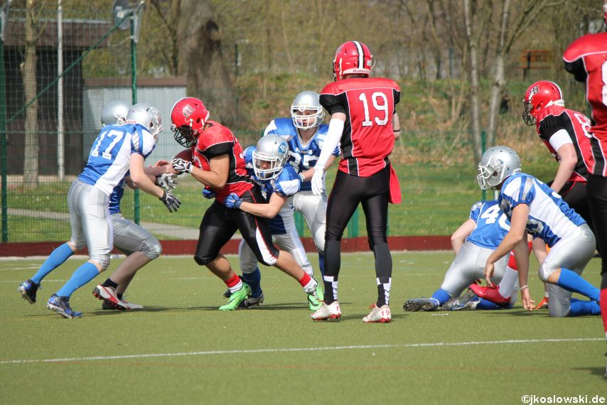 Scrimmage Marburg Mercenaries Darmstadt Diamonds Jugend 102