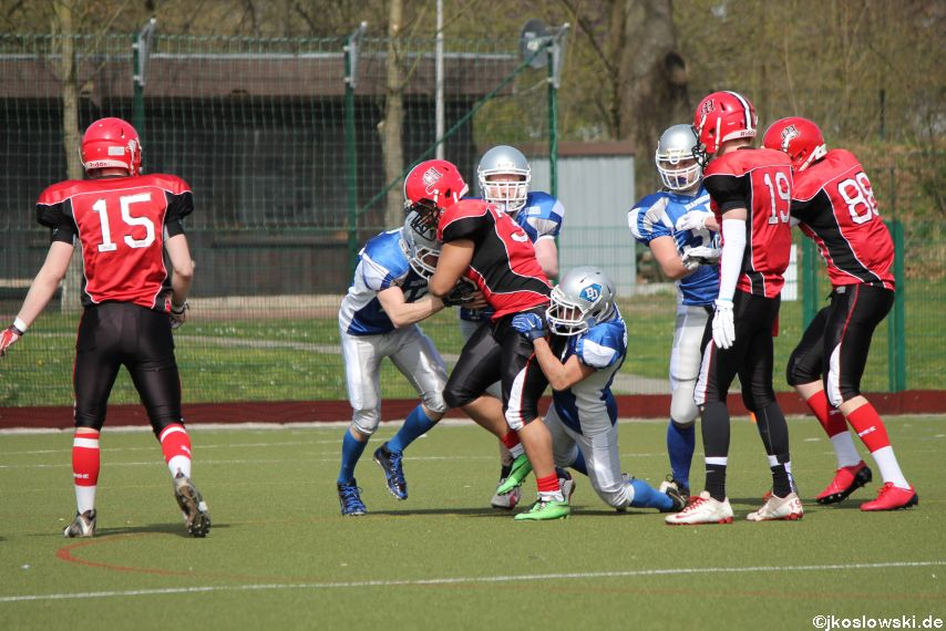 Scrimmage Marburg Mercenaries Darmstadt Diamonds Jugend 103