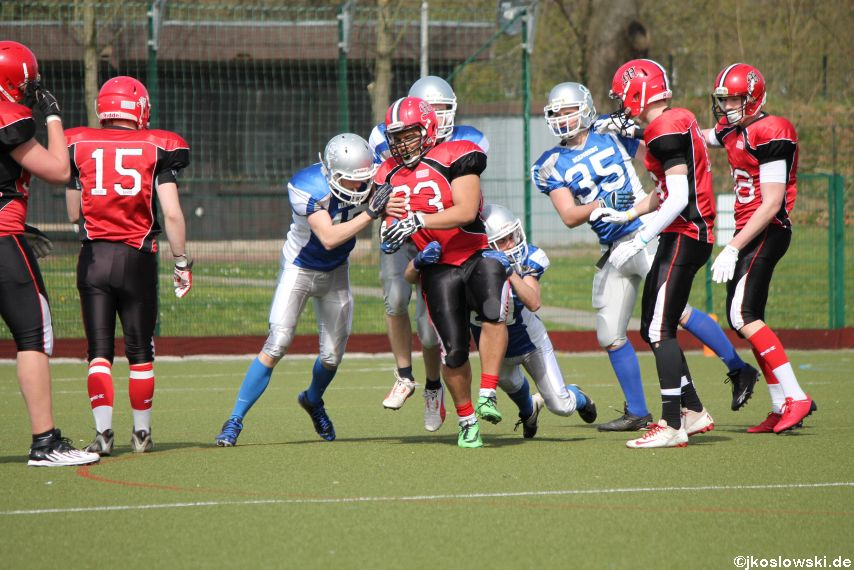 Scrimmage Marburg Mercenaries Darmstadt Diamonds Jugend 104