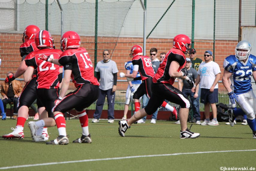 Scrimmage Marburg Mercenaries Darmstadt Diamonds Jugend 105