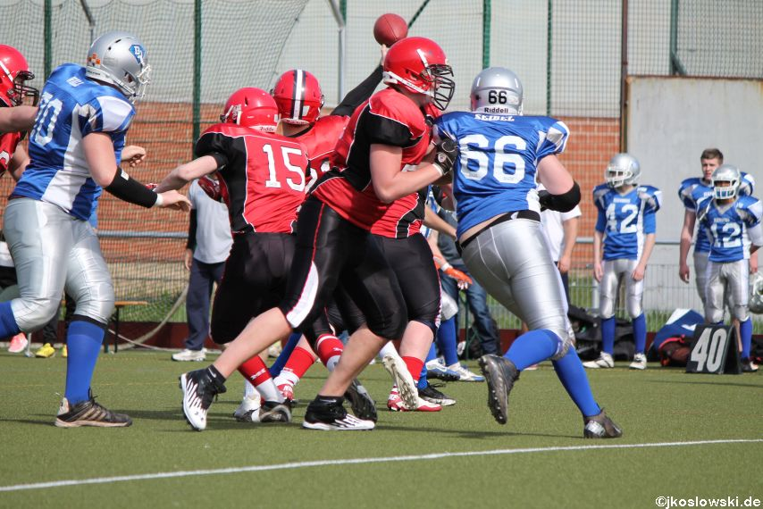 Scrimmage Marburg Mercenaries Darmstadt Diamonds Jugend 106