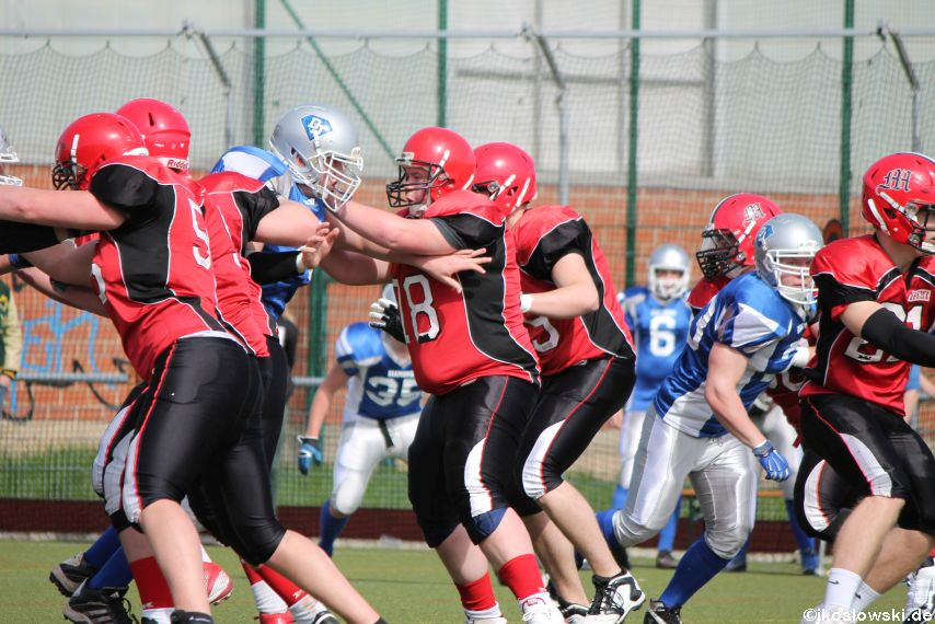 Scrimmage Marburg Mercenaries Darmstadt Diamonds Jugend 108