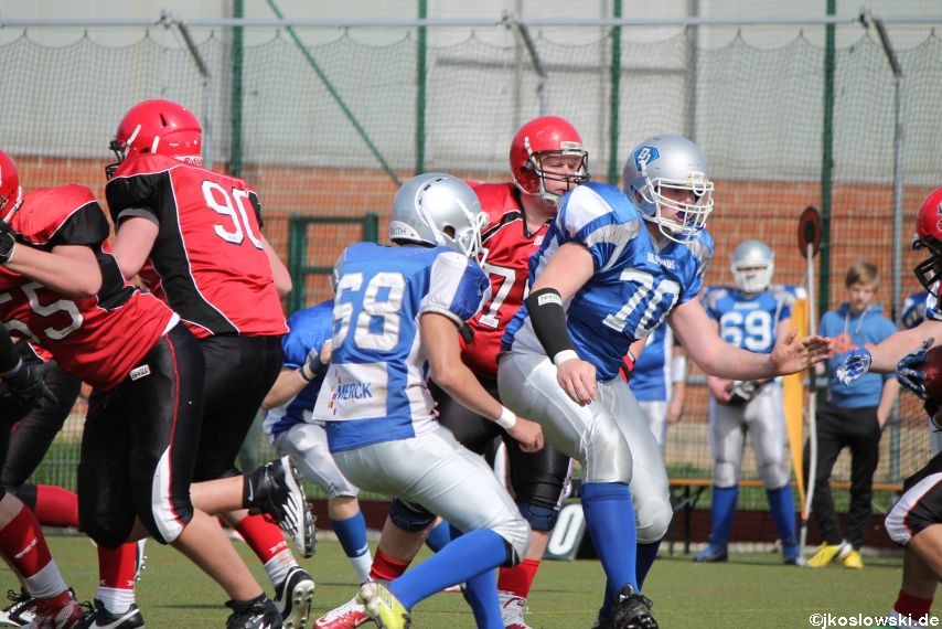Scrimmage Marburg Mercenaries Darmstadt Diamonds Jugend 109