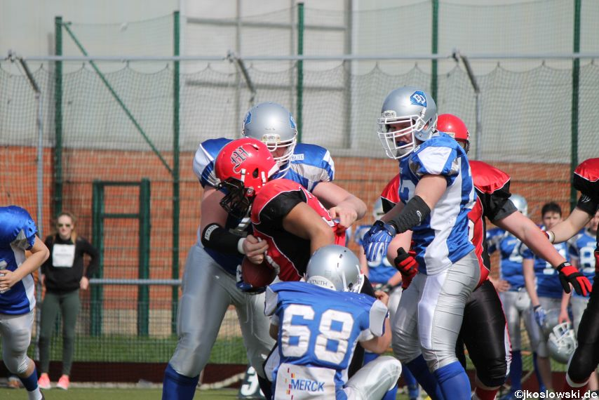 Scrimmage Marburg Mercenaries Darmstadt Diamonds Jugend 110