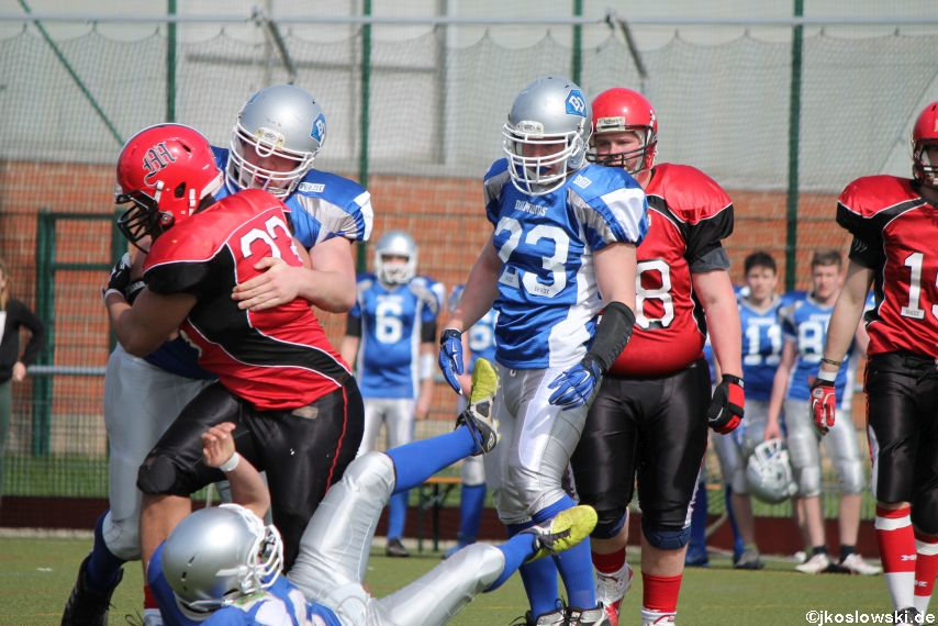 Scrimmage Marburg Mercenaries Darmstadt Diamonds Jugend 111