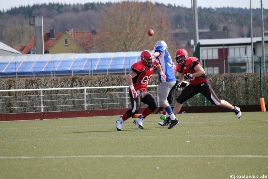 Scrimmage Marburg Mercenaries Darmstadt Diamonds Jugend 115
