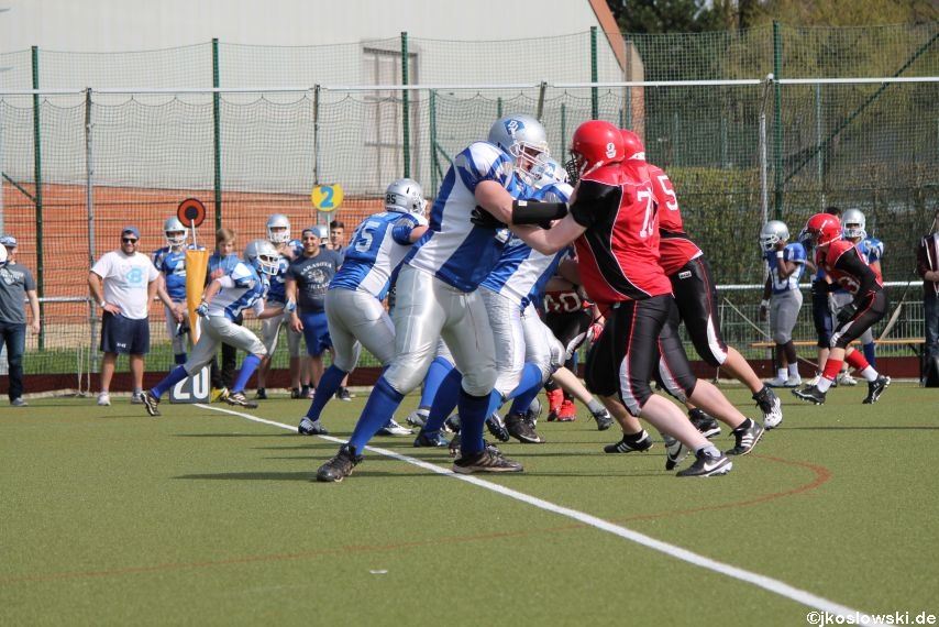 Scrimmage Marburg Mercenaries Darmstadt Diamonds Jugend 117