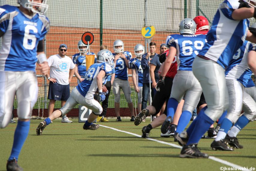 Scrimmage Marburg Mercenaries Darmstadt Diamonds Jugend 118